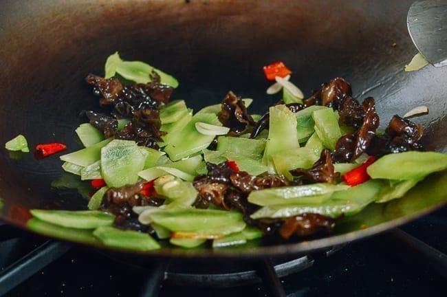 Chinese Celtuce Stir-fry, thewoksoflife.com