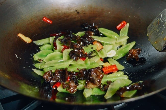 Chinese Stem Lettuce Stir-fry, thewoksoflife.com