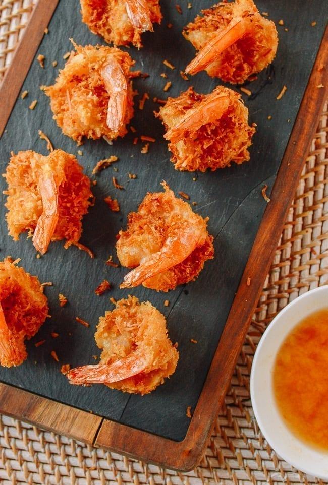 Coconut Fried Shrimp, thewoksoflife.com