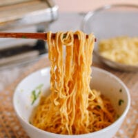 Homemade Chinese Egg Noodles, thewoksoflife.com