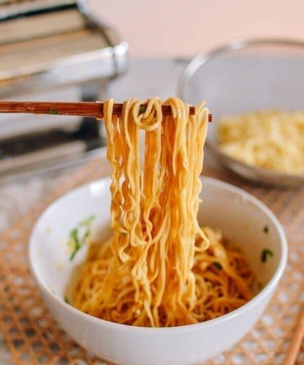 Homemade Chinese Egg Noodles, thewoksoflife.com