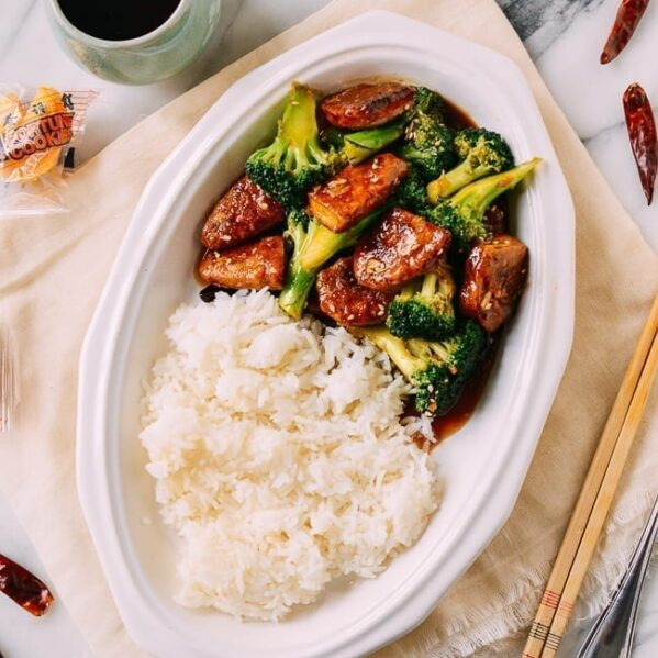 Shortcut Vegan General Tso's Chicken, thewoksoflife.com