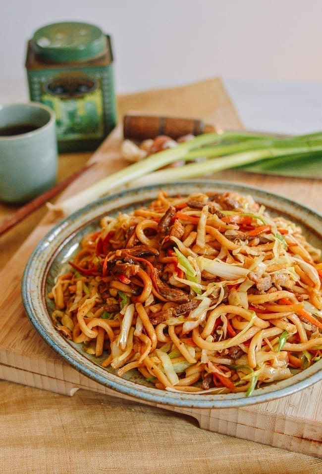 Yaki Udon Easy One Pan Meal The Woks Of Life