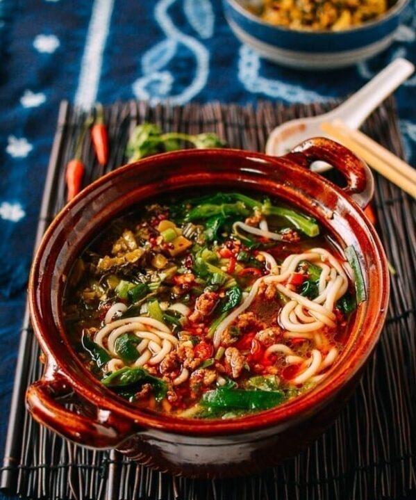 Yunnan Rice Noodle Soup, thewoksoflife.com
