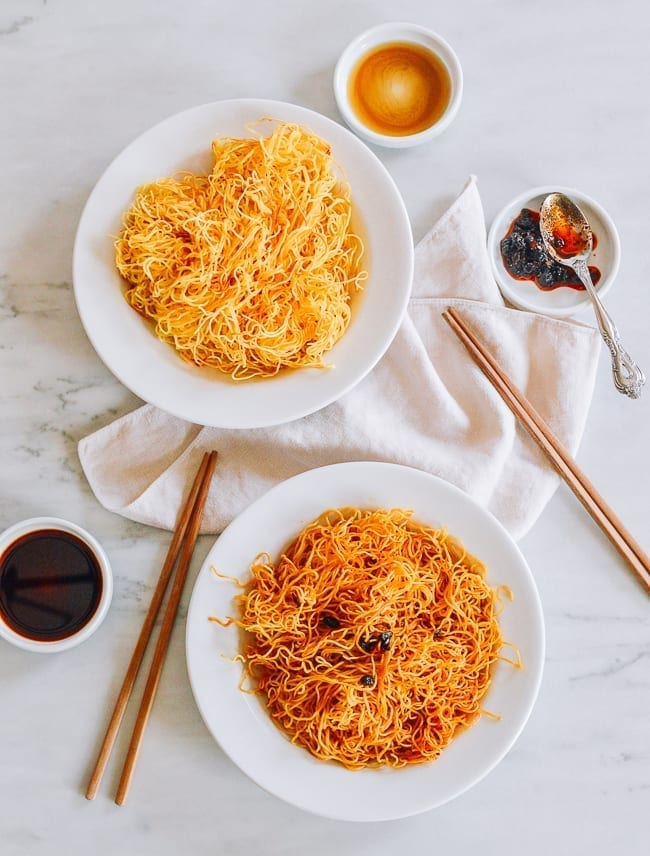 Simple Spicy Pan Fried Noodles The Woks Of Life