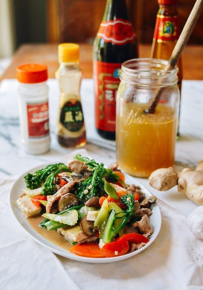 All purpose Chinese white sauce stir-fry, thewoksoflife.com