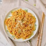 Asian Garlic Noodles, thewoksoflife.com