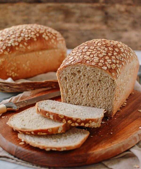 Homemade Multigrain Bread, thewoksoflife.com