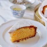 Slice of Osmanthus Cake, thewoksoflife.com