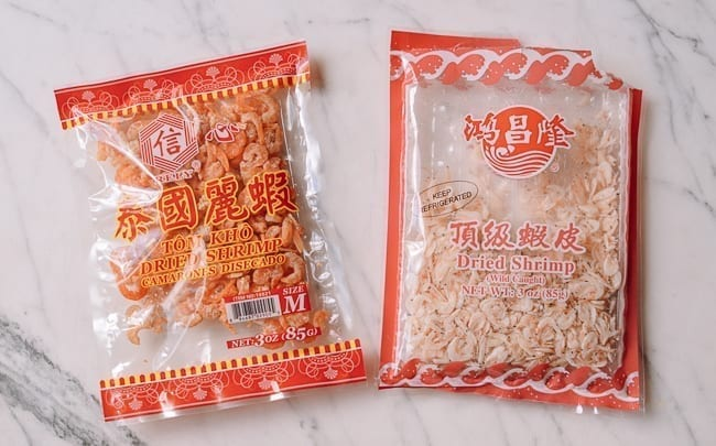 Dried shrimp, thewoksoflife.com