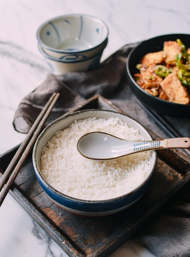 Perfectly steamed rice, thewoksoflife.com