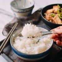 How to Steam Rice, thewoksoflife.com