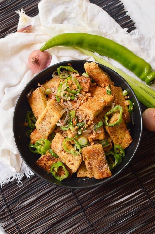 Salt and Pepper Tofu, thewoksoflife.com