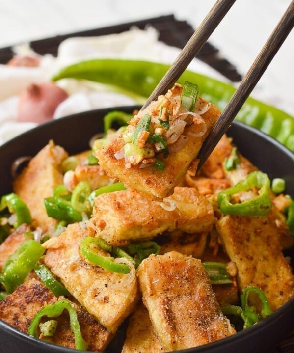 Salt and Pepper Tofu, thewoksoflife.com