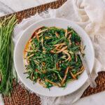 Tofu and Chinese Garlic Chive Stir-fry, thewoksoflife.com