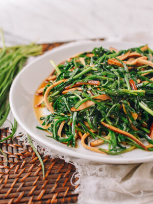 Spiced Tofu Stir-fry with Garlic Chives, thewoksoflife.com