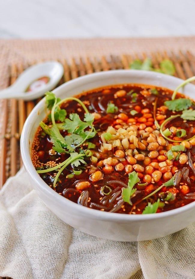 Suan La Fen Sichuan Noodle Soup, thewoksoflife.com