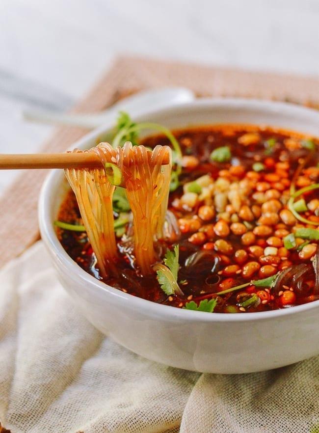 Suan La Fen Noodles, thewoksoflife.com