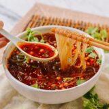 Suan La Fen (Chongching Hot and Sour Noodle Soup), thewoksoflife.com