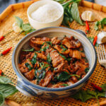 Thai Basil Pork Belly, thewoksoflife.com