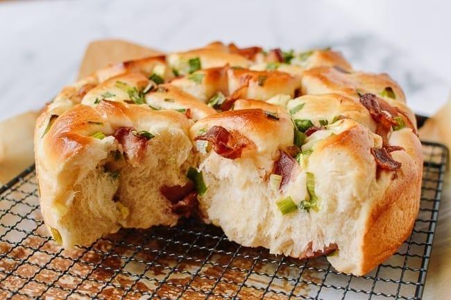 Bacon Scallion Milk Bread