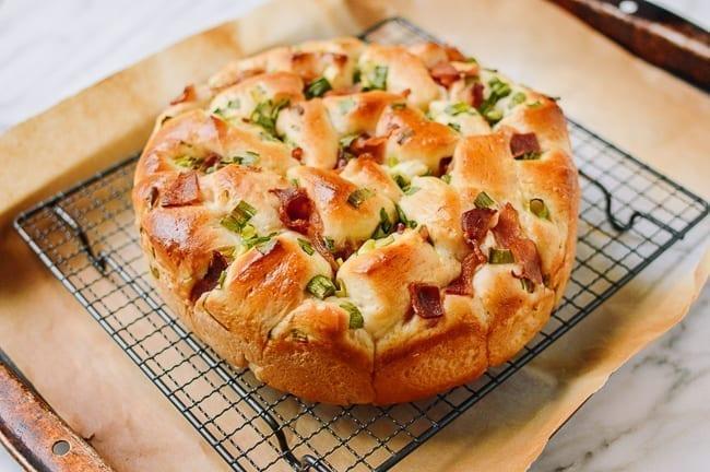 Bacon Scallion Bread