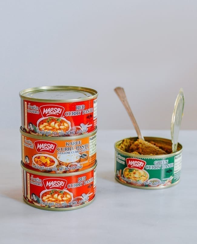 Canned Thai Curry Paste, thewoksoflife.com