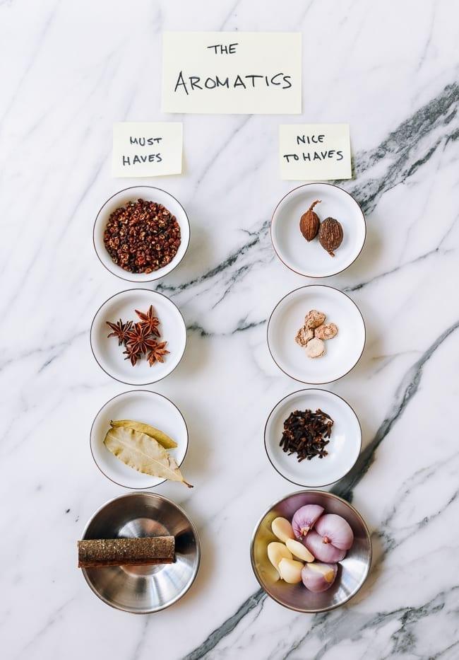 Chili Oil aromatic ingredients, thewoksoflife.com