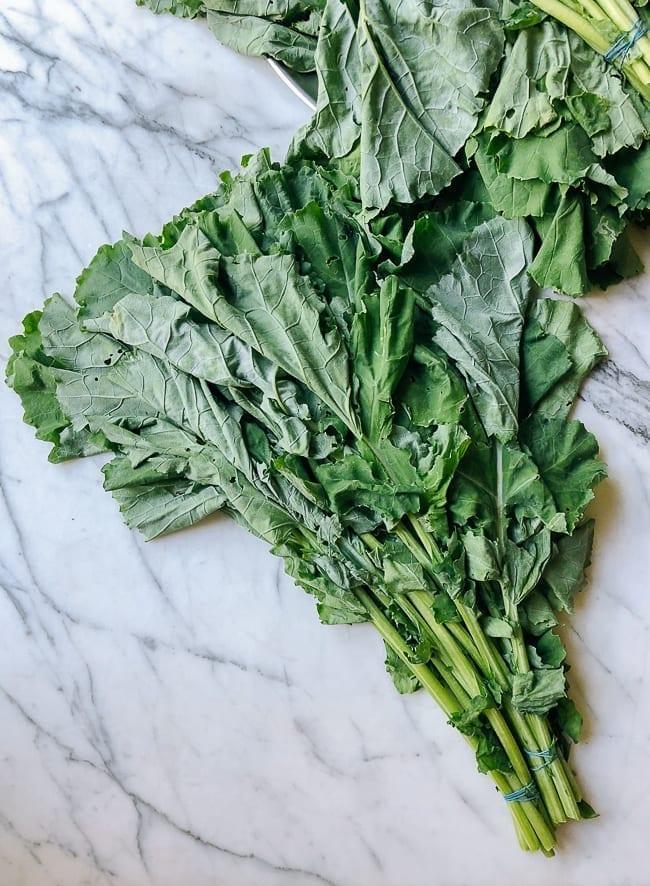 Air dried kale greens, thewoksoflife.com