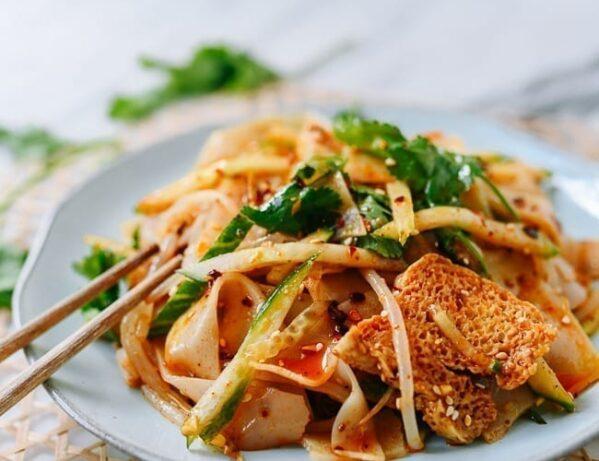 Spicy Liangpi, thewoksoflife.com
