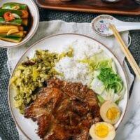 Taiwanese Pork Chop Plate, thewoksoflife.com