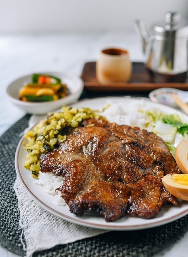 Taiwanese Pork Chop Plate Full Recipe The Woks Of Life