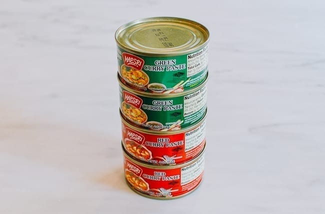 Green and Red Thai Curry Pastes, thewoksoflife.com