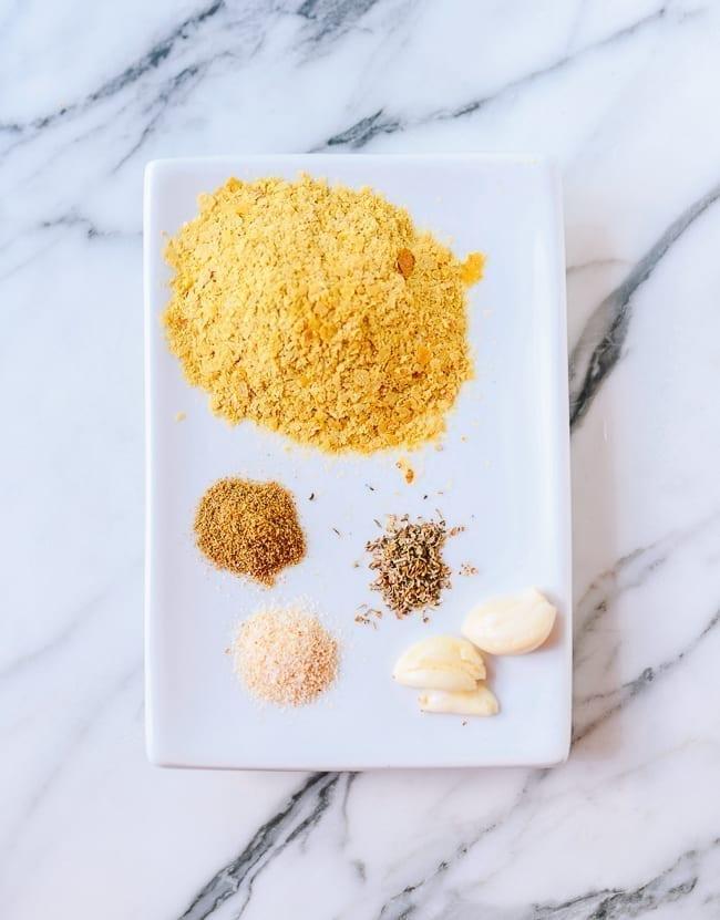 Vegan Queso Ingredients, thewoksoflife.com