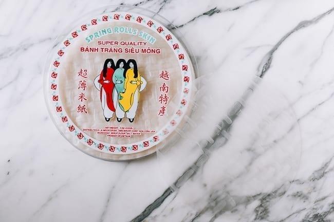 Vietnamese rice paper wrappers, thewoksoflife.com