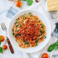 Roasted Tomato Meat Sauce, thewoksoflife.com