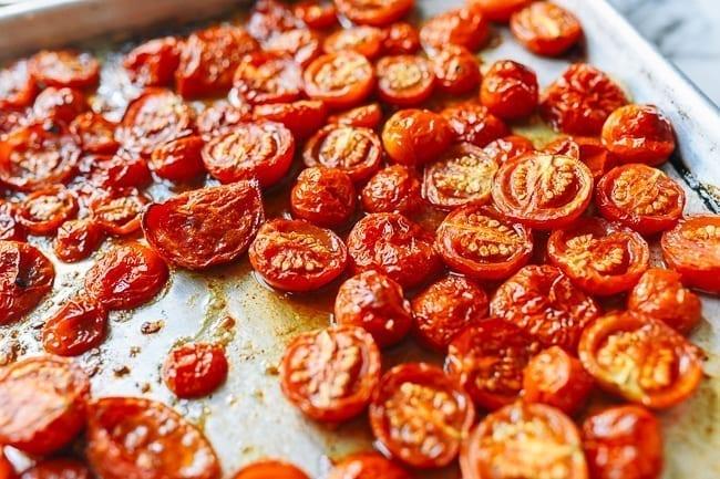 Roasted tomatoes, thewoksoflife.com