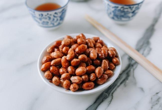 Wok Fried Peanuts, thewoksoflife.com