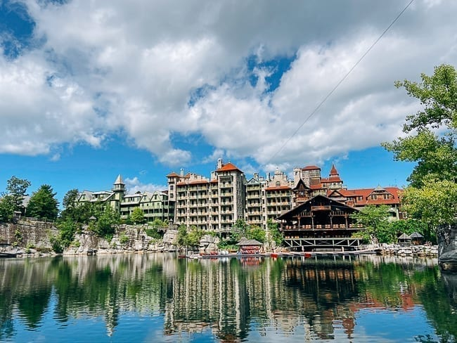 View of Mohonk Mountain House, thewoksoflife.com