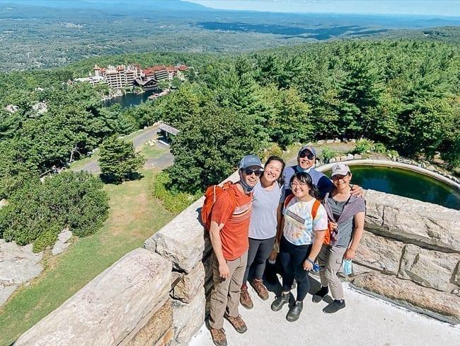 The Woks of Life family on Skytop Tower, thewoksoflife.com