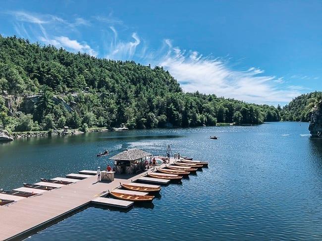 Mohonk Lake Dock and boat rental, thewoksoflife.com
