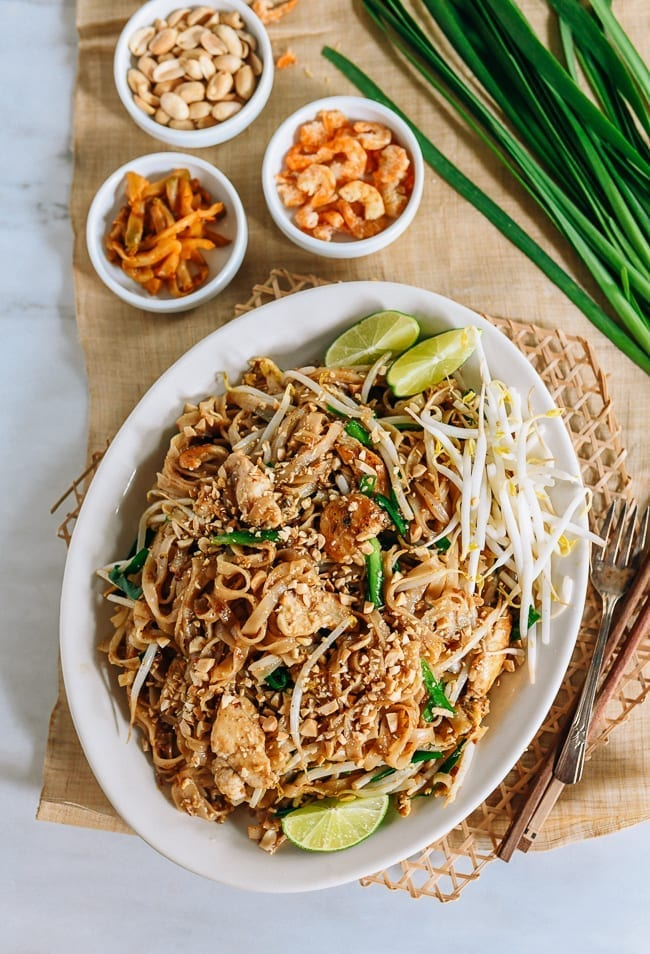 Plate of Pad Thai, thewoksoflife.com