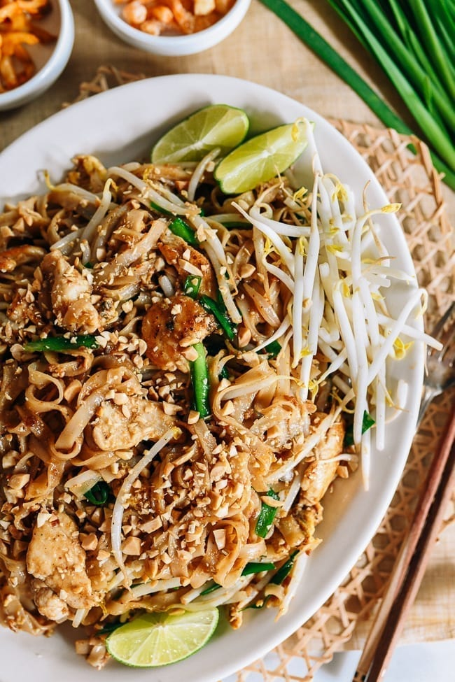 Pad Thai recipe, thewoksoflife.com