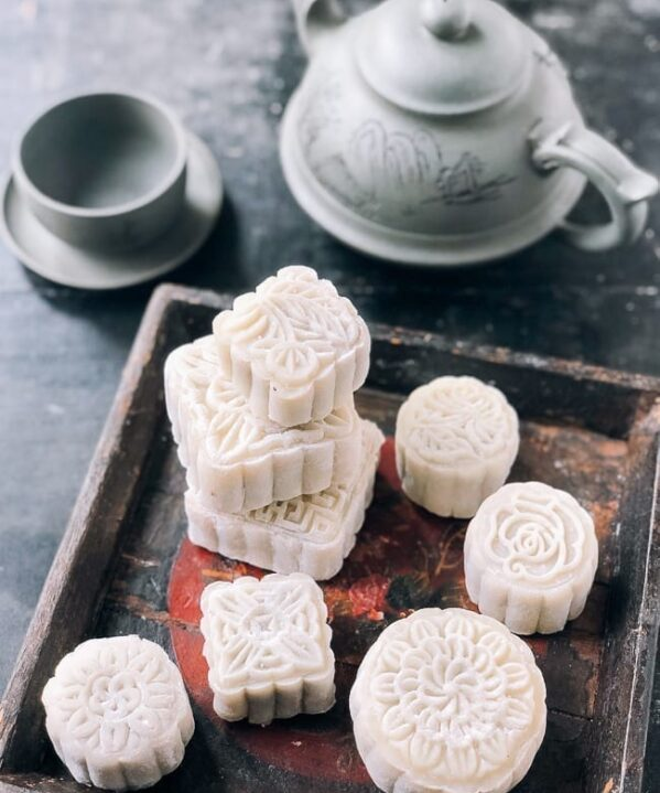 Snow Skin Mooncakes, thewoksoflife.com