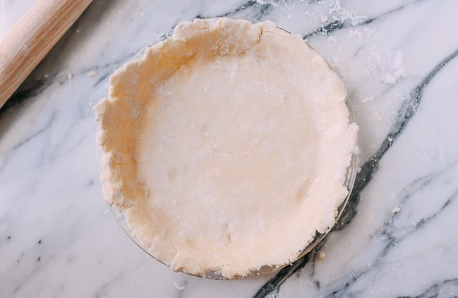 Unbaked pie shell, thewoksoflife.com