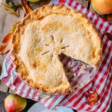 Apple Pie with slice removed, thewoksoflife.com