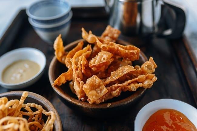 Fried Wonton Skins