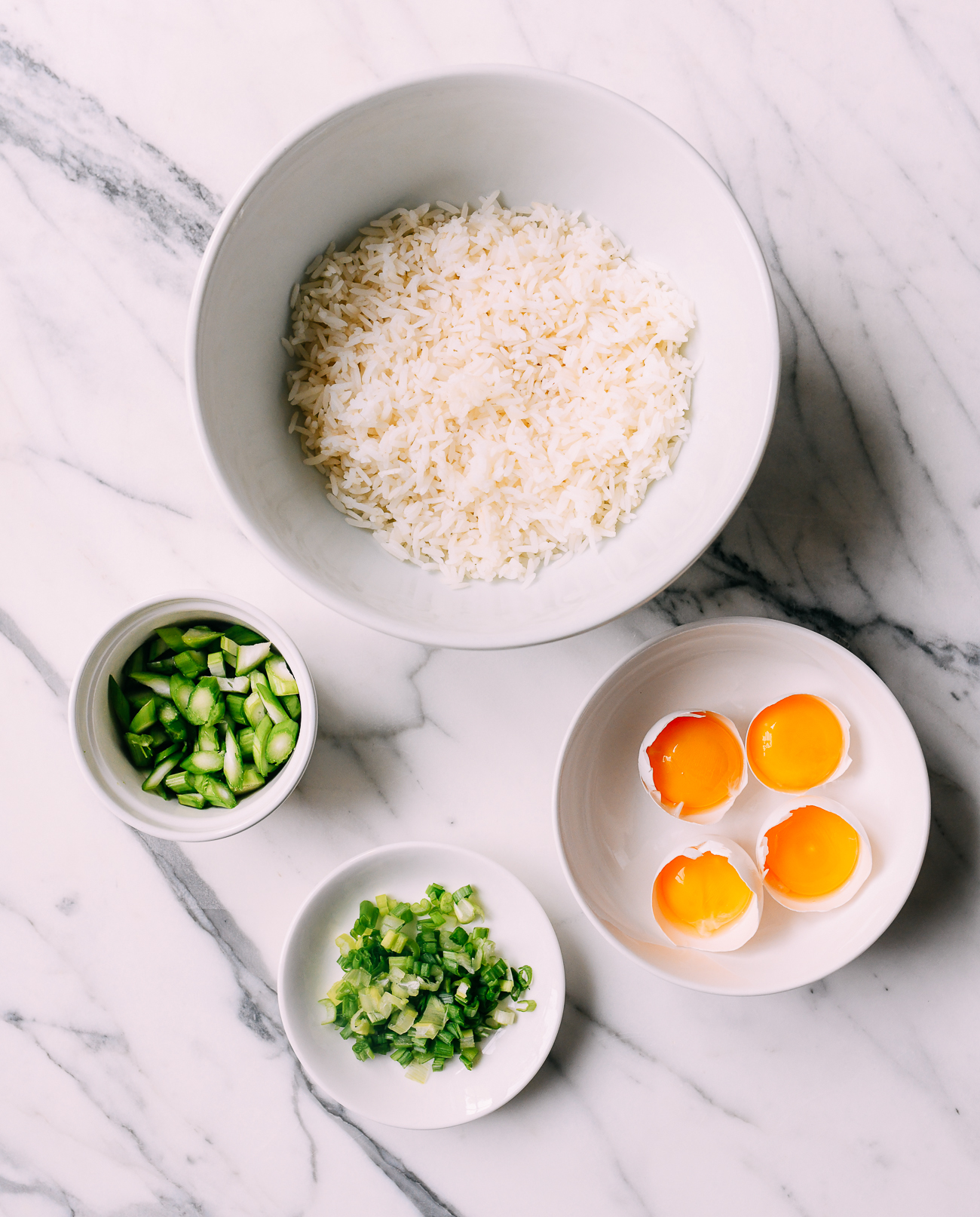 Golden Fried Rice Ingredients