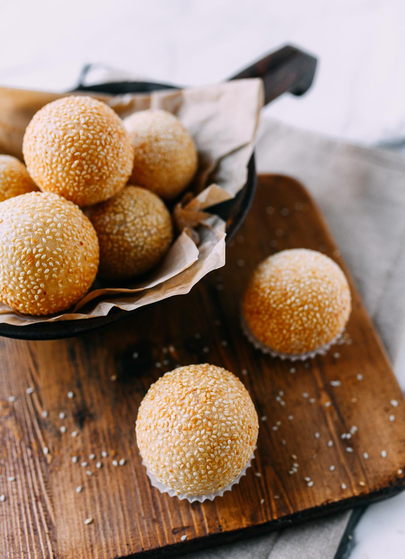 Deep Fried Sesame Balls, Thewoksoflife.com