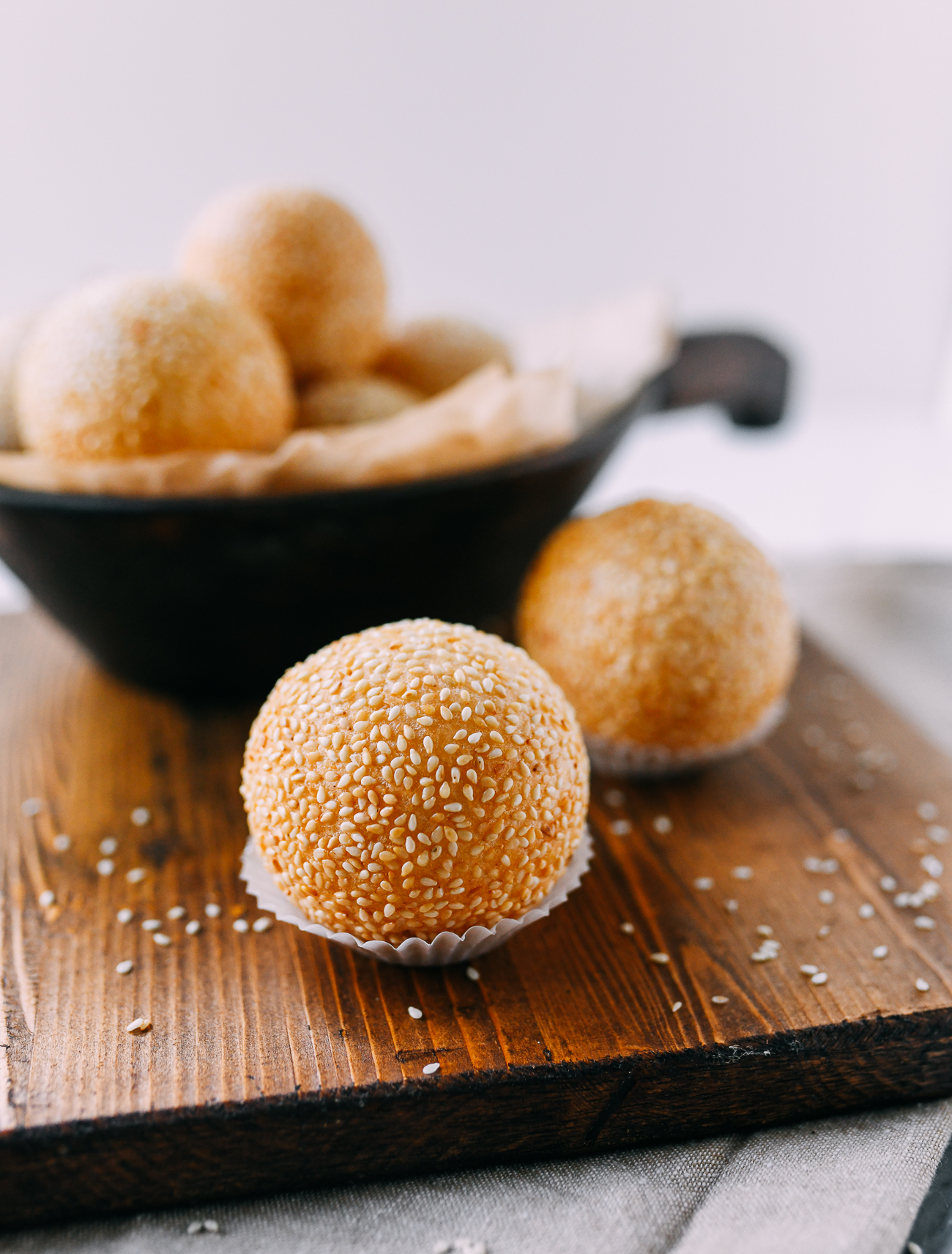 Chinese Sesame Balls